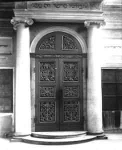 Aron della sinagoga di Correggio